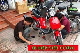 sửa chữa xe đạp điện - xe máy điện